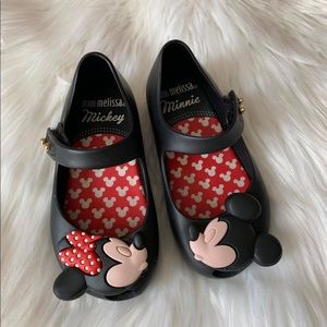 Mini Melissa Minnie Mouse size 7